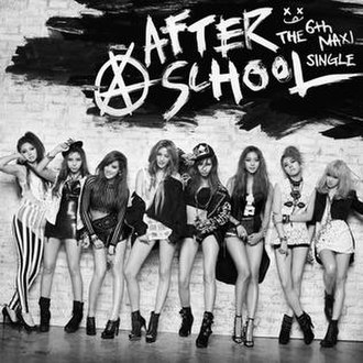 First Love (After School song) - Image: AS First Love Cover