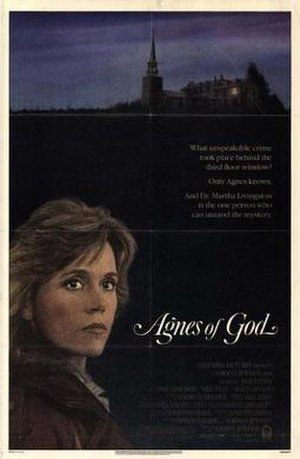Agnes of God (film) - Theatrical release poster
