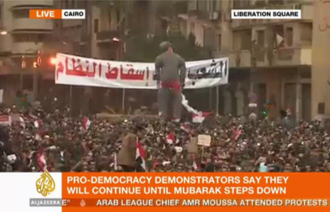 Al Jazeera English - Al Jazeera English's coverage of the Egyptian Revolution of 2011 led to calls for the channel to be aired in the U.S.