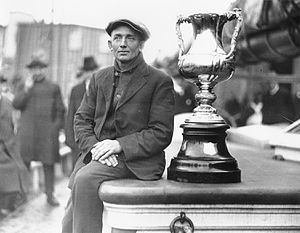 Angus Walters - Walters with International Fisherman's Trophy