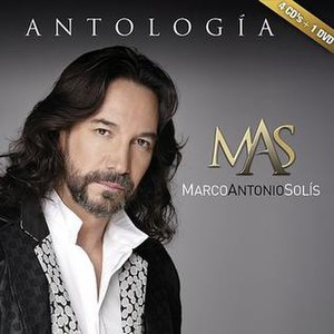 Antología (Marco Antonio Solís album) - Image: Antología cover