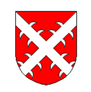 Lordship of Wickrath - The arms of the Knights of Hompesch, who ruled Wickrath in 1488-1502.