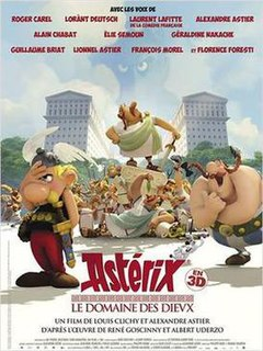 2014 French-Belgian 3D computer animated adventure family comedy film directed by Alexandre Astier