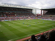 Villa Park, home of Aston Villa Football Club.