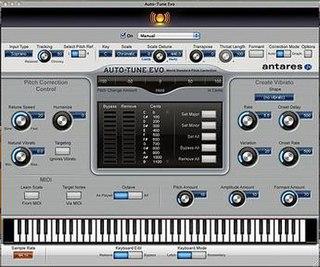 Auto-Tune Audio processor