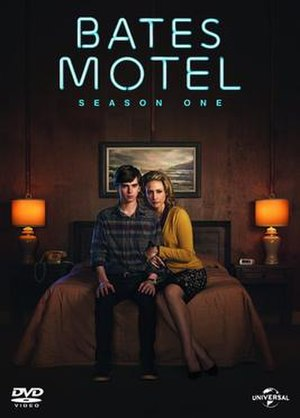 Bates Motel (season 1) - Promotional poster and home media cover art