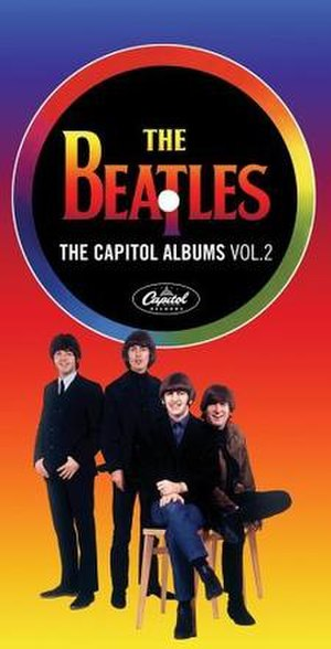 The Capitol Albums, Volume 2 - Image: Beatles Capitol Albums Vol 2albumcover