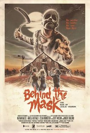 Behind the Mask: The Rise of Leslie Vernon - Theatrical release poster
