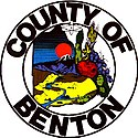 Official logo of Benton County