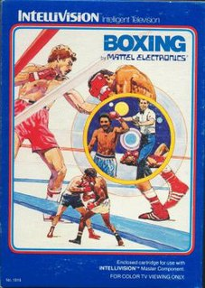 <i>Boxing</i> (1981 video game) 1981 video game
