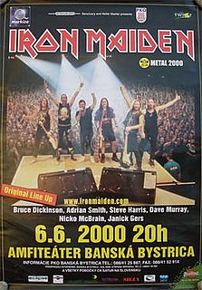 Brave New World Tour 2000–2002 concert tour by Iron Maiden