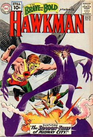 Hawkman (Katar Hol) - Image: Brave and the Bold 36