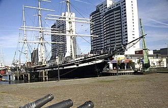 "Bremerhaven - Columbus Center and the ""Seute Deern"""