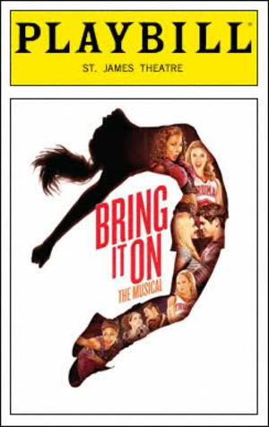 Bring It On: The Musical - Official Playbill for the Broadway production