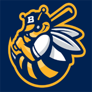 Burlington Bees - Image: Burlington Bees Cap Logo