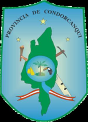 Condorcanqui Province - Image: COA Condorcanqui Province in Amazonas Region