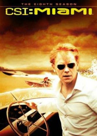 CSI: Miami (season 8) - Season 8 U.S. DVD cover