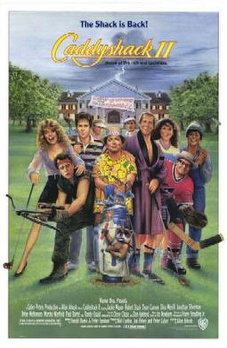 Caddyshack II - Theatrical release poster