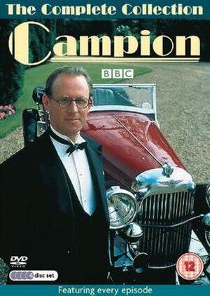 Campion (TV series) - Peter Davison as Campion with his Lagonda