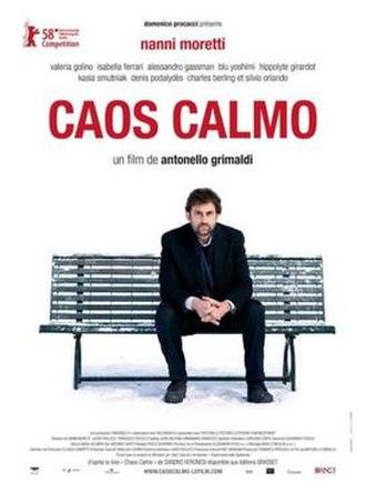 Quiet Chaos (film) - Image: Caos calmo poster