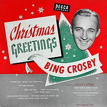 Bing Crosby Christmas.Christmas Greetings Album Wikipedia