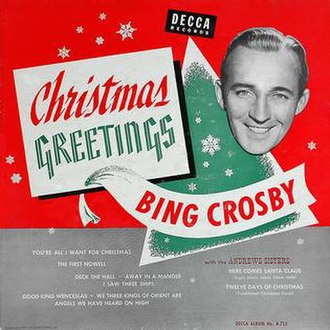 Christmas Greetings (album) - Image: Christmas Greetings (album cover)