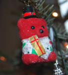 Christmas Tree Bear Decoration