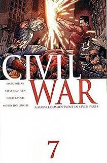 <i>Civil War</i> (comics) Marvel Comics storyline