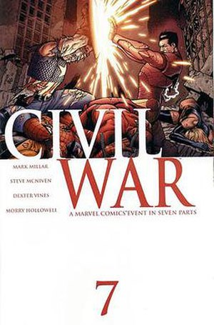 Civil War (comics) - Image: Civil War 7
