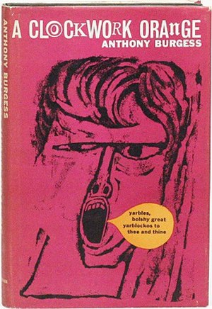 A Clockwork Orange (novel) - Dust jacket from the first edition