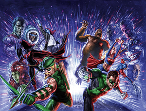 Justice League: Cry for Justice - Image: Cry justice cover