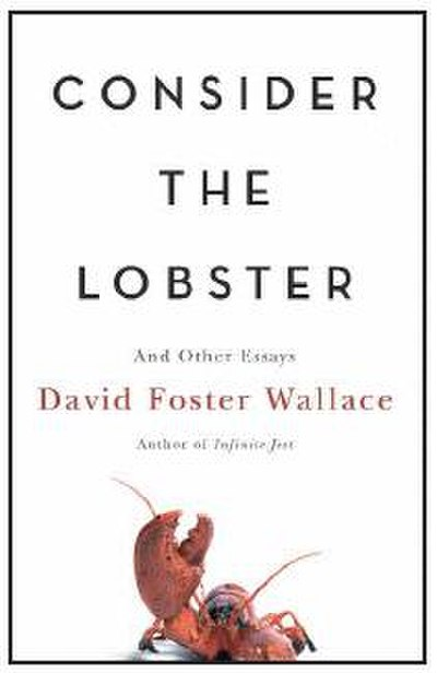 Picture of a book: Consider The Lobster