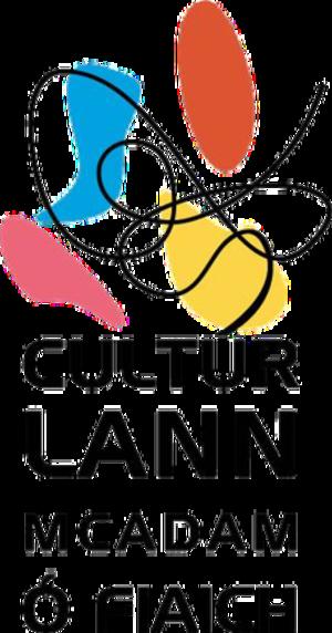 Cultúrlann McAdam Ó Fiaich - Image: Cultúrlann Mc Adam Ó Fiaich logo