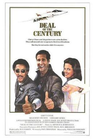Deal of the Century - Theatrical release poster by John Alvin