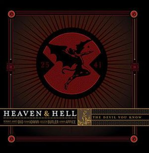 The Devil You Know (Heaven & Hell album) - Image: Devilyouknow walmart