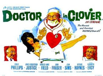 Doctor in Clover - Image: Doctor in Clover quad poster