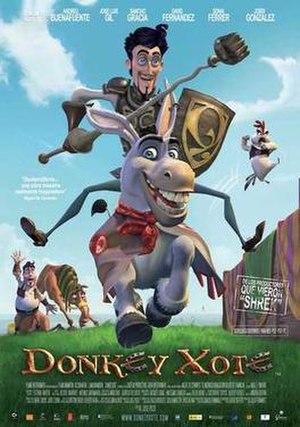 Donkey Xote - Image: Donkey Xote movie poster