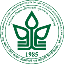 Dr. Yashwant Singh Parmar University of Horticulture and Forestry logo.png