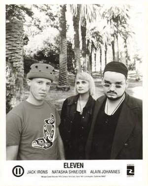 Eleven (band) - Left to right: Jack Irons, Natasha Shneider, Alain Johannes.