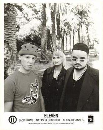 Eleven (band) - Left to right: Jack Irons, Natasha Shneider, Alain Johannes.