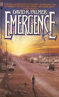 <i>Emergence</i> (novel) book by David R. Palmer