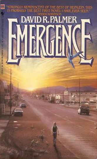 Emergence (novel) - First Edition cover of Emergence