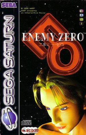 Enemy Zero - European Saturn cover art