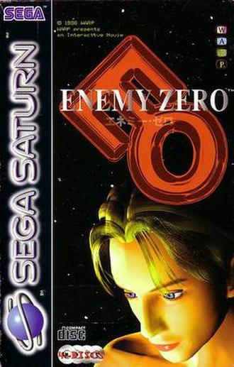 Enemy Zero - European Saturn cover art