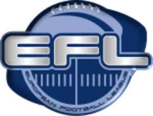 European Football League - Image: European Football League logo