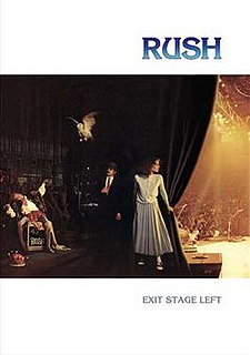 <i>Exit...Stage Left</i> (video) 1982 video by Rush