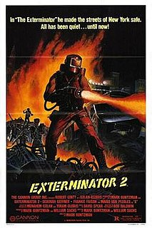 <i>Exterminator 2</i> 1984 film by Mark Buntzman