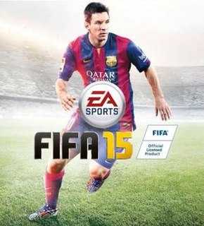 <i>FIFA 15</i> 2014 association football video game