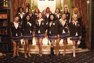 Flavor of Love Girls: Charm School - Cast of Flavor of Love Girls: Charm School (left to right):