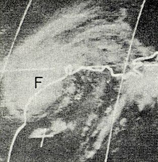 Hurricane Fern Category 1 Atlantic hurricane in 1971